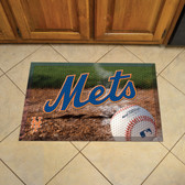 "New York Mets Scraper Mat 19""x30"" - Ball"