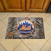 """New York Mets Scraper Mat 19""""x30"""" - Camo"""