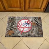 "New York Yankees Scraper Mat 19""x30"" - Camo"