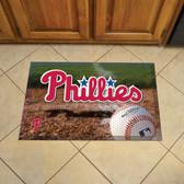 "Philadelphia Phillies Scraper Mat 19""x30"" - Ball"