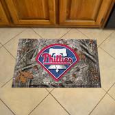 "Philadelphia Phillies Scraper Mat 19""x30"" - Camo"
