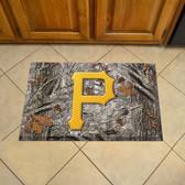 """Pittsburgh Pirates Scraper Mat 19""""x30"""" - Camo"""