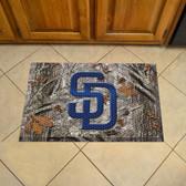 "San Diego Padres Scraper Mat 19""x30"" - Camo"