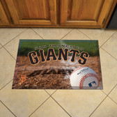 "San Francisco Giants Scraper Mat 19""x30"" - Ball"