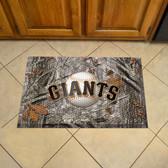"""San Francisco Giants Scraper Mat 19""""x30"""" - Camo"""