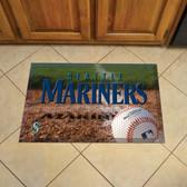 "Seattle Mariners Scraper Mat 19""x30"" - Ball"