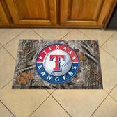 """Texas Rangers Scraper Mat 19""""x30"""" - Camo"""