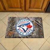 "Toronto Blue Jays Scraper Mat 19""x30"" - Camo"