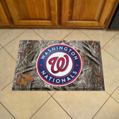 "Washington Nationals Scraper Mat 19""x30"" - Camo"