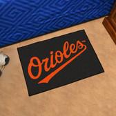 """Baltimore Orioles Starter Rug 19""""x30"""""""