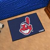 """Cleveland Indians Starter Rug 19""""x30"""""""