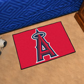"Los Angeles Angels Starter Rug 19""x30"""