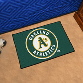 "Oakland Athletics Starter Rug 19""x30"""