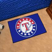 "Texas Rangers Starter Rug 19""x30"""