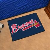 "Atlanta Braves Starter Rug 19""x30"""