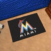 "Miami Marlins Starter Rug 19""x30"""