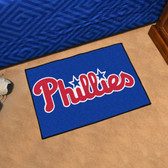 "Philadelphia Phillies Starter Rug 19""x30"""