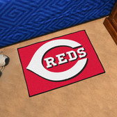 "Cincinnati Reds Starter Rug 19""x30"""