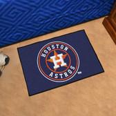 """Houston Astros Starter Rug 19""""x30"""""""