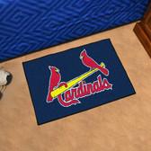 """St. Louis Cardinals Starter Rug 19""""x30"""""""