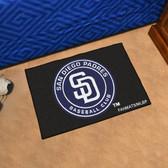 "San Diego Padres Starter Rug 19""x30"""