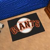 "San Francisco Giants Starter Rug 19""x30"""