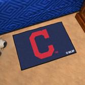 "Cleveland Indians ""Block-C"" Starter Rug 19""x30"""