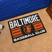 "Baltimore Orioles Baseball Club Starter Rug 19""x30"""
