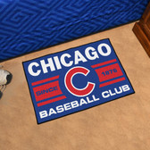"Chicago Cubs Baseball Club Starter Rug 19""x30"""