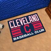 "Cleveland Indians Baseball Club Starter Rug 19""x30"""