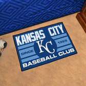 "Kansas City Royals Baseball Club Starter Rug 19""x30"""