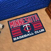 "Minnesota Twins Baseball Club Starter Rug 19""x30"""
