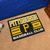 "Pittsburgh Pirates Baseball Club Starter Rug 19""x30"""
