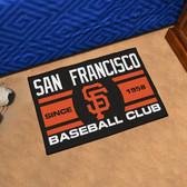 "San Francisco Giants Baseball Club Starter Rug 19""x30"""