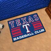 "Texas Rangers Baseball Club Starter Rug 19""x30"""