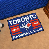 "Toronto Blue Jays Baseball Club Starter Rug 19""x30"""