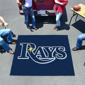 Tampa Bay Rays Tailgater Rug 5'x6'