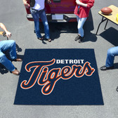 Detroit Tigers Tailgater Rug 5'x6'