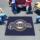 Milwaukee Brewers Tailgater Rug 5'x6'