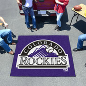 Colorado Rockies Tailgater Rug 5'x6'
