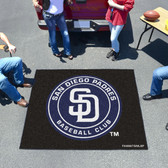 San Diego Padres Tailgater Rug 5'x6'