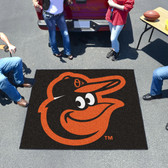 Baltimore Orioles Cartoon Bird Tailgater Rug 5'x6'