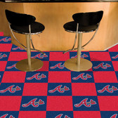 "Atlanta Braves Carpet Tiles 18""x18"" tiles"
