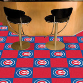"Chicago Cubs Carpet Tiles 18""x18"" tiles"