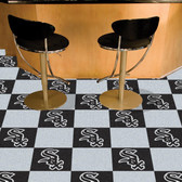 "Chicago White Sox Carpet Tiles 18""x18"" tiles"