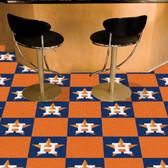 """Houston Astros Carpet Tiles 18""""x18"""" tiles"""