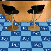"""Kansas City Royals Carpet Tiles 18""""x18"""" tiles"""