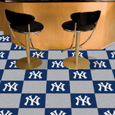 "New York Yankees Carpet Tiles 18""x18"" tiles"