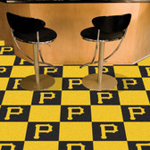 "Pittsburgh Pirates Carpet Tiles 18""x18"" tiles"
