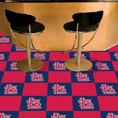 "St. Louis Cardinals Carpet Tiles 18""x18"" tiles"